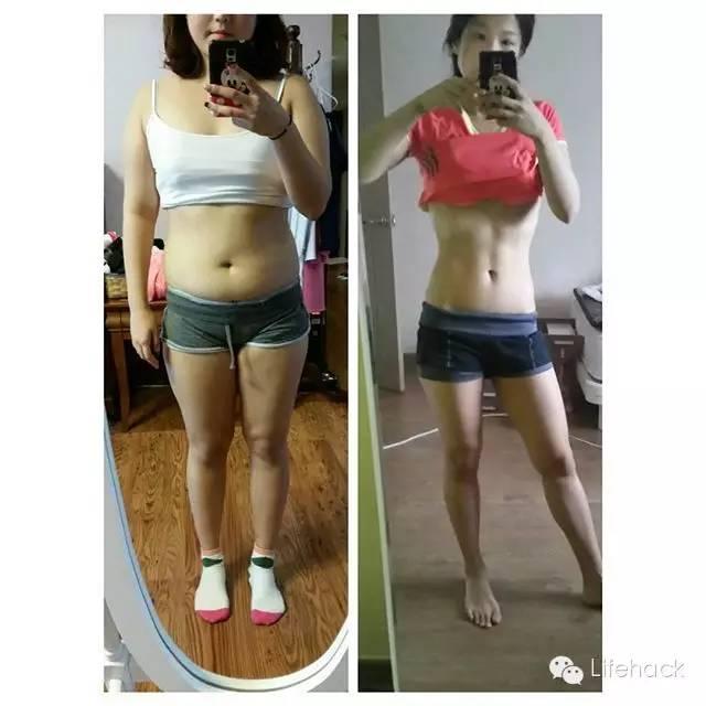 韩国胖情侣4个月狂减50斤,变身猛男辣妹!