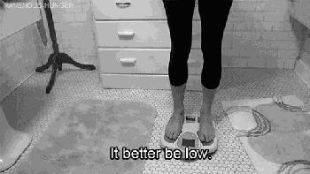 1.别再把体重称当一回事