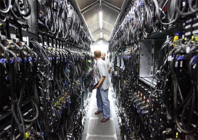 微软的一个数据中心